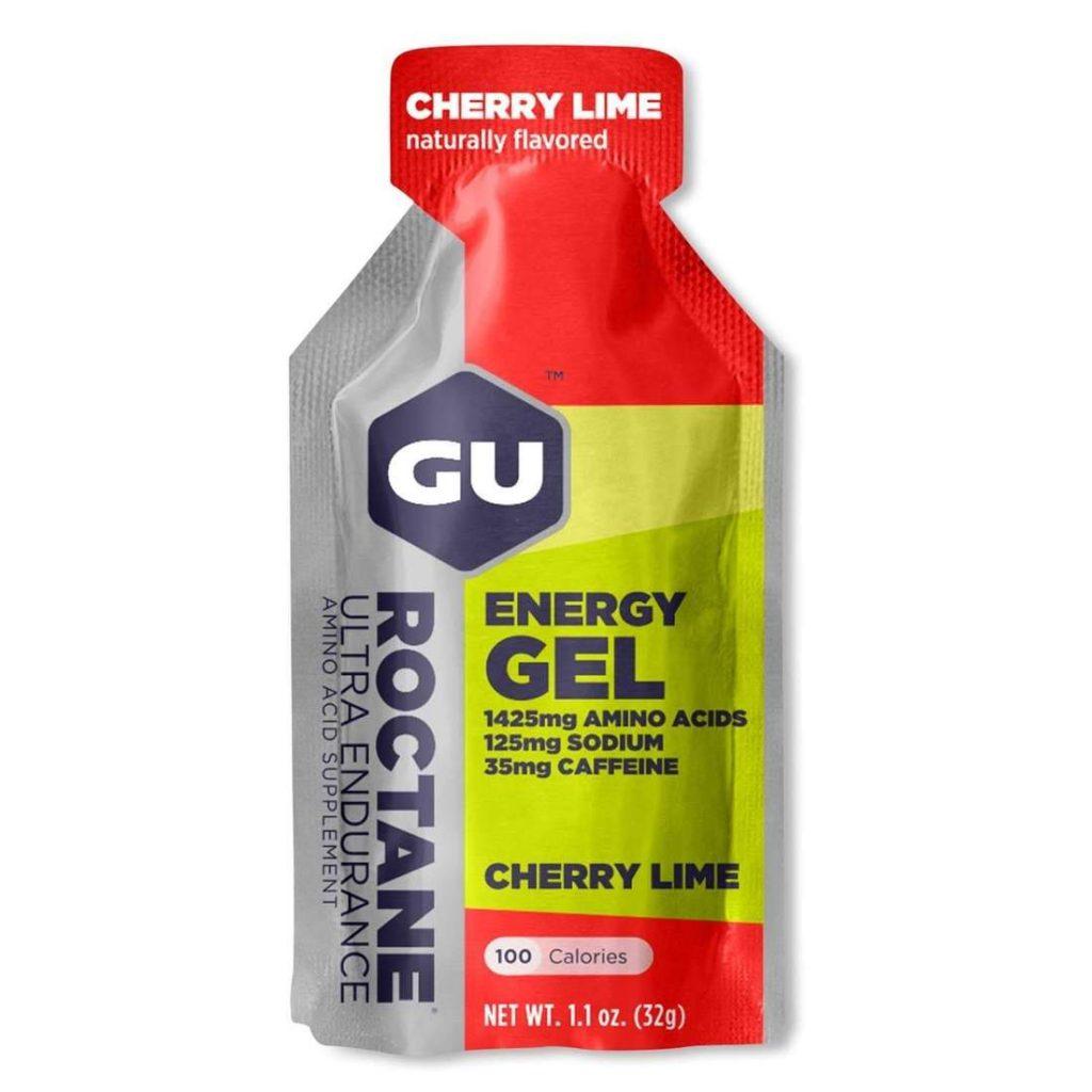 caffeinated gu energy gel