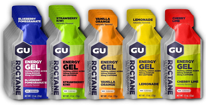 gu roctane energy gel review for ultra endurance athletes
